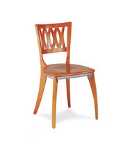 Gar 1660 Series Side Chair with Saddle Seat