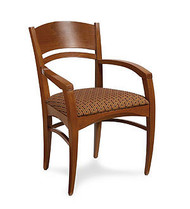 Gar 177 Series Arm Chair with Padded Seat