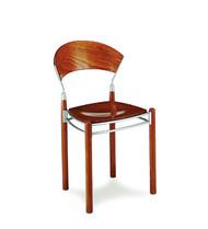 Gar Series 305 Side Chair with Veneer Seat