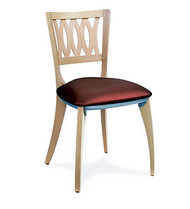 Gar 1660 Series Side Chair with Padded Seat