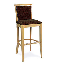Gar Series 123 Padded Seat with Padded Nailed Back Barstool