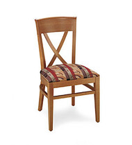 Gar Series 123 Side Chair with Padded Seat