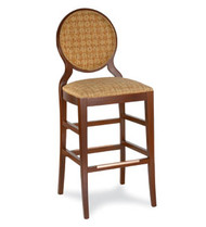 Gar Series 229 Barstool with Padded Seat and Padded Back