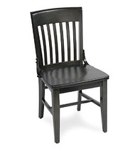 Gar Series 379 Side Chair with Saddle Seat