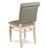 Gar Series 399 Padded Seat with Over Upholstered Back Side Chair