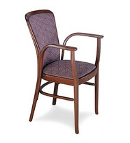 Gar Series 9921 Arm Chair with Padded Seat and Padded Back