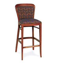 Gar Series 9921 Barstool with Padded Seat and Padded Back