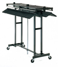 Magnuson Mobile Folding Mega Rak with Hanger Bar MR-611H