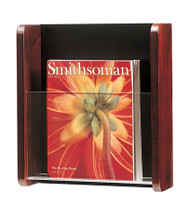 Magnuson Wall-Mounted 1-Pocket Magazine Rack 1010