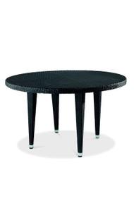 Gar Asbury Outdoor Round Woven Table with Legs