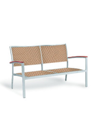 Gar Bayhead Performance Weave Outdoor Double Seater