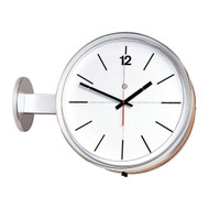 Peter Pepper Model 505 Wall or Ceiling Mounted Double-Face Clock
