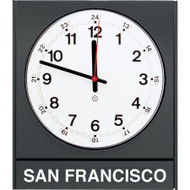Peter Pepper Model 881 - Time Zone Clock