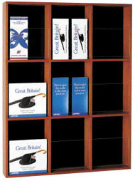 Peter Pepper 605 Magazine / Literature Rack - 9 Pocket