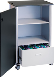 """Peter Pepper 7990 Wheelies Mobile File and Storage Cart - 42"""" High"""