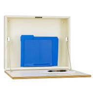 """Peter Pepper 4900 Express Desk Fold Down Wall Desk - 20"""" W"""