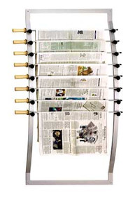 Peter Pepper 114 Wall Mounted Newspaper Rack