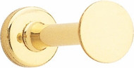 Peter Pepper 2009 Brass Coat Knob - Polished Brass Finish