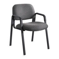 Safco 7046BL Cava Urth Straight Leg Side Chair - Black