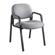 Safco 7046GR Cava Urth Straight Leg Side Chair - Gray