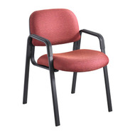 Safco 7046BG Cava Urth Straight Leg Side Chair - Burgundy