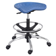Safco SitStar Stool with Chrome Base 6660BU