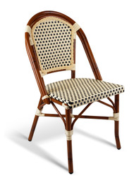 Gar Seaside Outdoor  Stacking Chair - No Arms