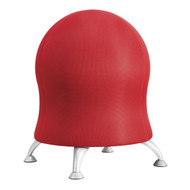 Safco 4750CI Zenergy Ball Chair - Crimson Mesh
