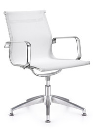 Woodstock Baez Mesh Side Chair - White
