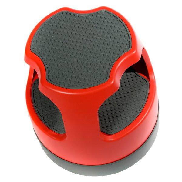 Astounding Cramer Red Task It Round Step Stool 50011Pk 43 Short Links Chair Design For Home Short Linksinfo
