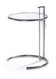 Woodstock Havens End Table - Glass Top
