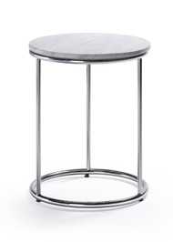 Woodstock Harden End Table - Marble Top