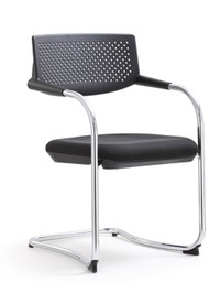 Woodstock Shankar Side Chair 2 Pack - Black