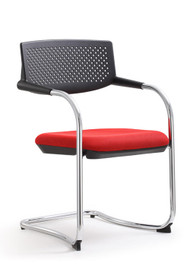 Woodstock Shankar Side Chair 2 Pack - Red