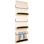 Peter Pepper 4013 Stackable Literature / Magazine Rack - 3 Pocket