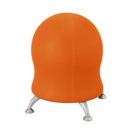 Safco 4750OR Zenergy Ball Chair - Crimson Mesh - Orange Mesh