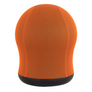 Safco 4760OR Zenergy Swivel Ball Chair - Orange Mesh