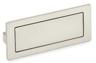 Schwinn Z075 Covered Flush Pull, Satin Nickel (UPC 4000913590090)