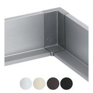 Schwinn 6K399-L Inner Corner, Silver (Matches Clear Anodized) (UPC 4000913544871)