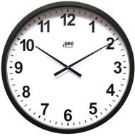 "BRG Precision Products HP22P DuraTime HP Clock, 22"" Diameter, Black Plastic Bezel"