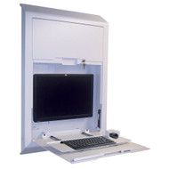 "Peter Pepper CS10 Integrate 42"" Double Door Wall Charting and Computing Station"
