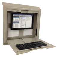 "Peter Pepper CS30 Integrate 28"" Single Door Wall Charting and Computing Station"