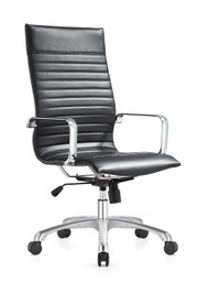 Woodstock Janis High Back Swivel Chair - Black