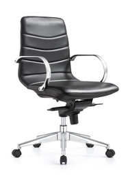 Woodstock Marie Mid Back Task Chair - Carbon Black