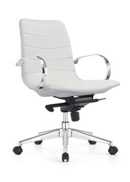 Woodstock Marie Mid Back Task Chair -Cloud  White