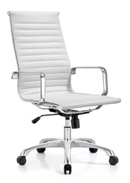 Woodstock Classic High Back Chair - White