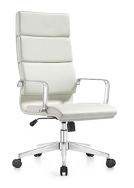 Woodstock Jimi High Back Chair - White