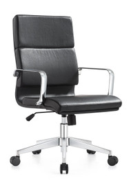 Woodstock Jimi Mid Back Chair - Black