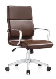 Woodstock Jimi Mid Back Chair - Brown