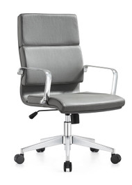 Woodstock Jimi Mid Back Chair - Gray